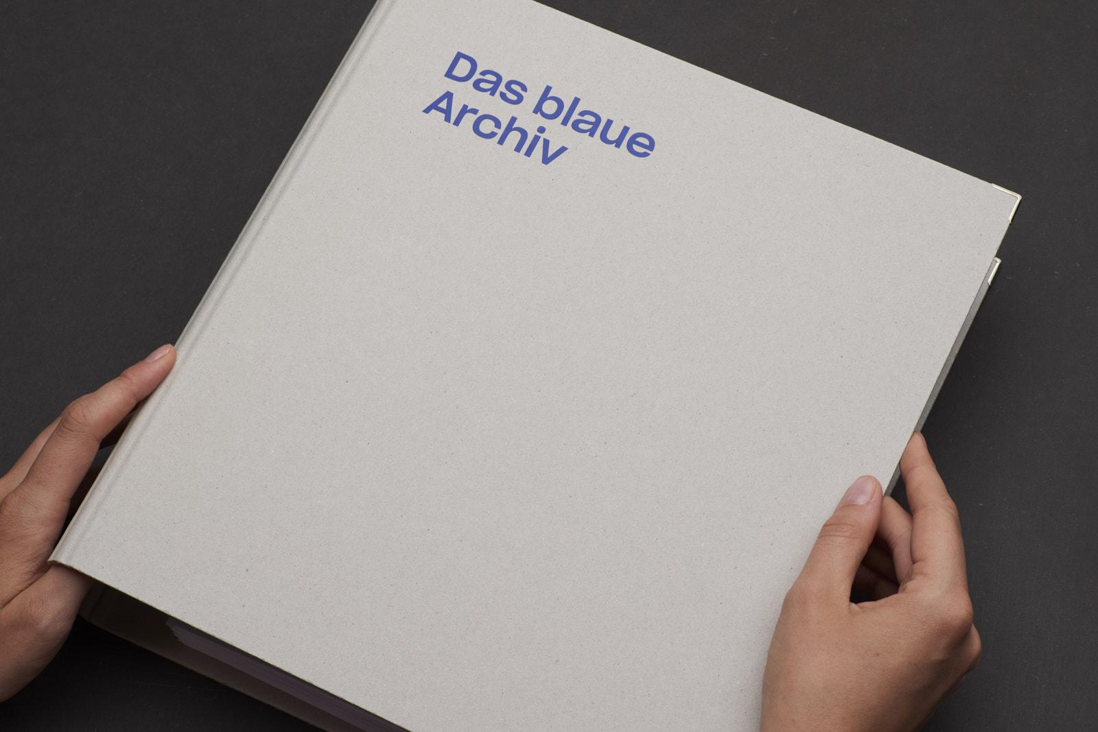 Die blaue Bibliothek
